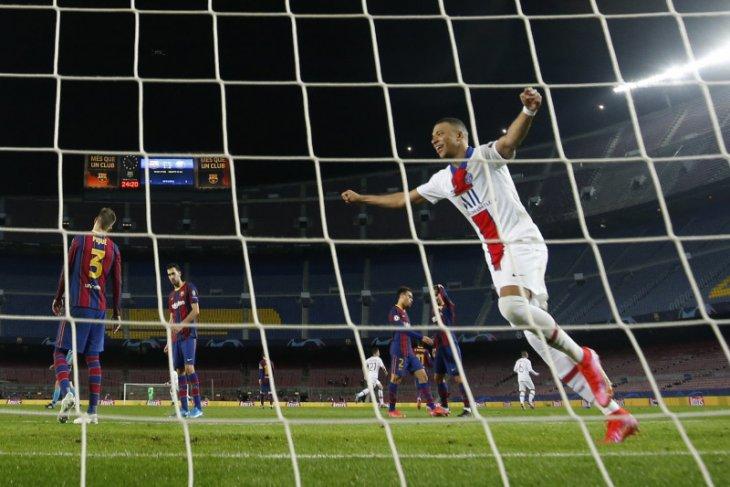 Liga Champions, Mbappe cetak