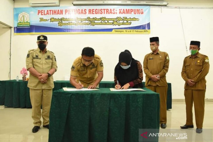 Aceh Tengah bentuk petugas registrasi kampung