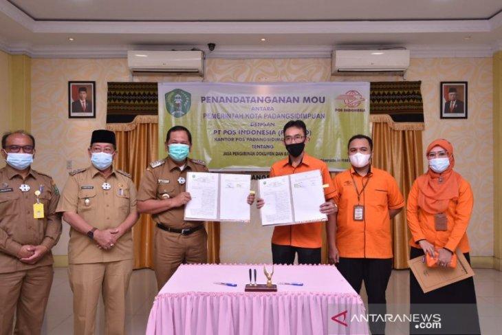 PT Pos Indonesia kerja sama dengan Pemkot Padangsidimpuan