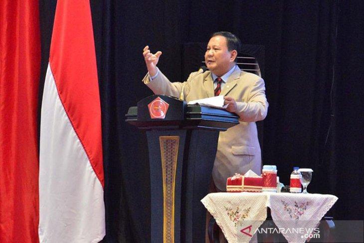 Prabowo Subianto sebagai calon presiden terkuat masih nisbi stabil dan tetap kokoh