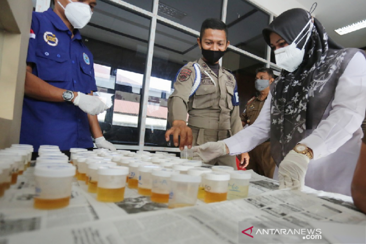 Personel Satpol PP Banda Aceh dites narkoba, begini hasilnya