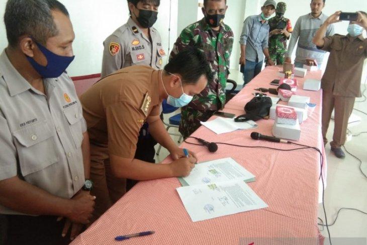 PT CPKA-Warga Jorong sepakati pengelolan limbah kelapa sawit