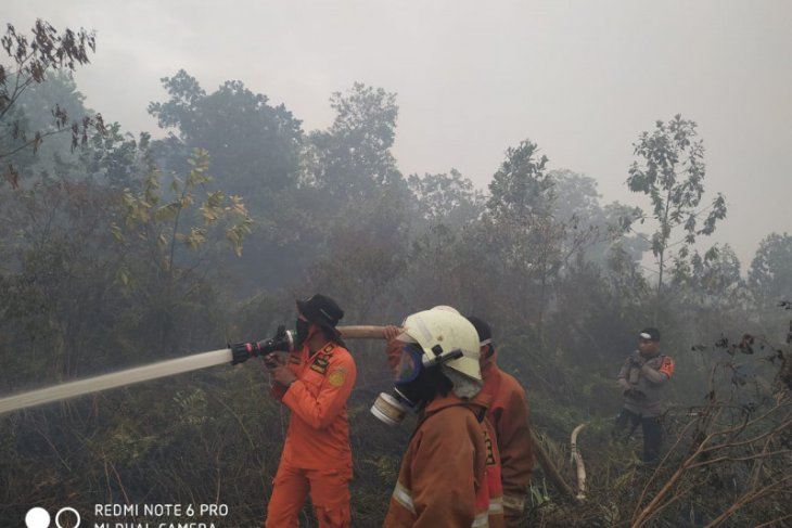 SAR di Pontianak ikut padamkan kebakaran hutan dan lahan
