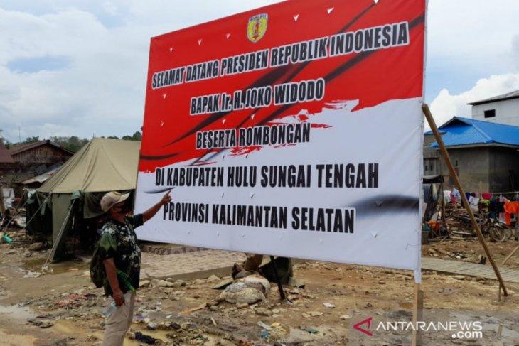 Kunker Jokowi hanya ke Kabupaten Tapin,  ke HST ada kemungkinan batal