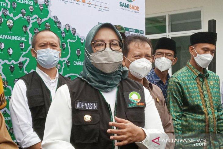 Bupati Bogor meluncurkan program Satu Miliar Satu Desa