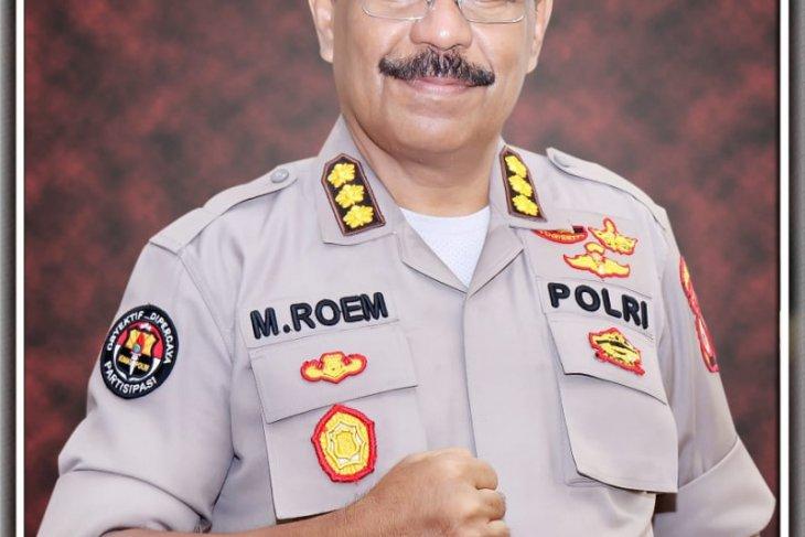 Puluhan personel Polda Maluku gencar cegah penyebaran virus corona