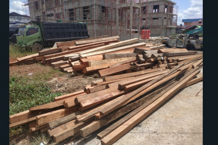 Polisi akan tetapkan tersangka terkait dugaan ilegal logging Kapuas Hulu
