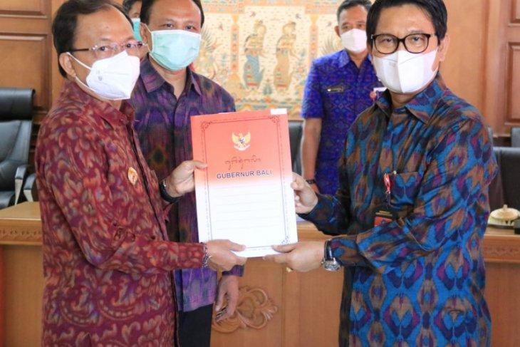 Sekretaris Daerah Badung resmi ditunjuk sebagai Plh. Bupati