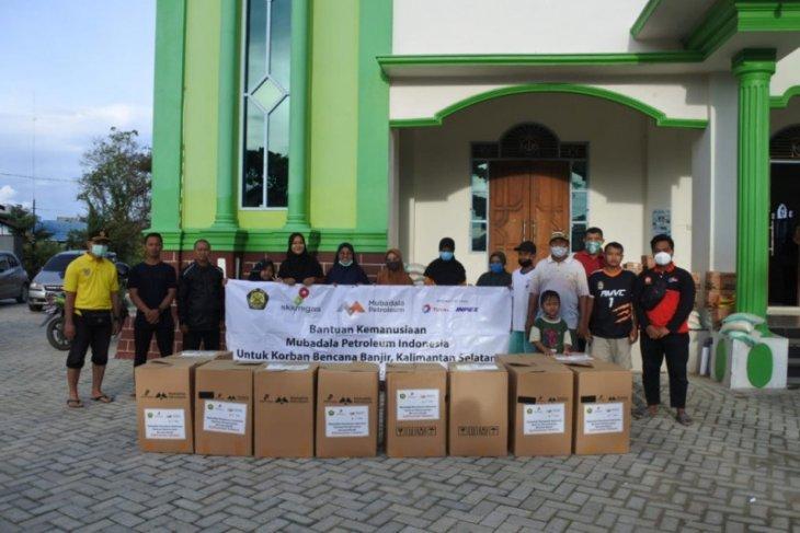 SKK Migas bersama Mubadala Petroleum Indonesia bantu korban Banjir Kalsel