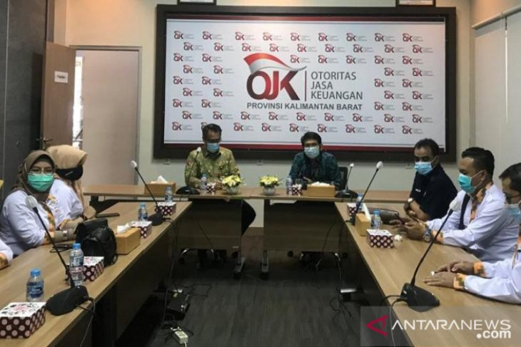 OJK Kalbar sinergi dengan KADIN dukung pemulihan ekonomi