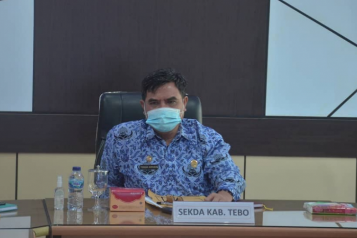 Sekda Tebo ikuti rapat penertiban prasarana, sarana dan utilitas