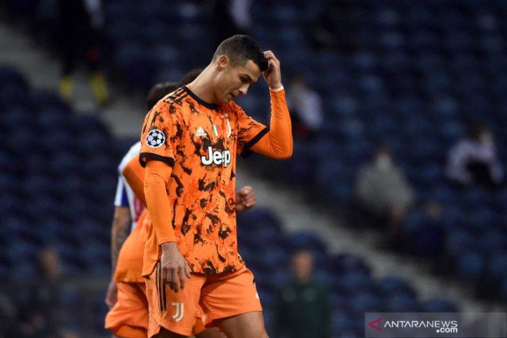 Juventus kalah dari Porto 1-2 leg pertama 16 besar