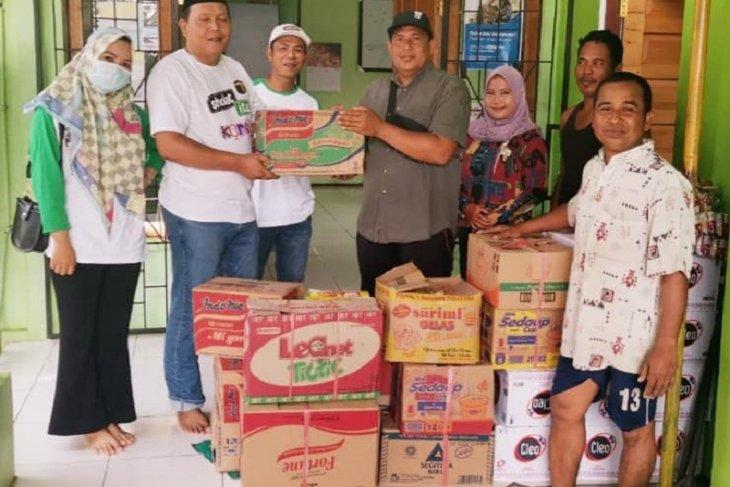 Peduli warga terdampak banjir, bantuan Syaifullah Tamliha disalurkan PPP HST