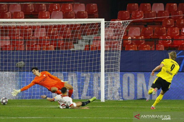 Dortmund pecundangi Sevilla, Haaland cetak dua gol