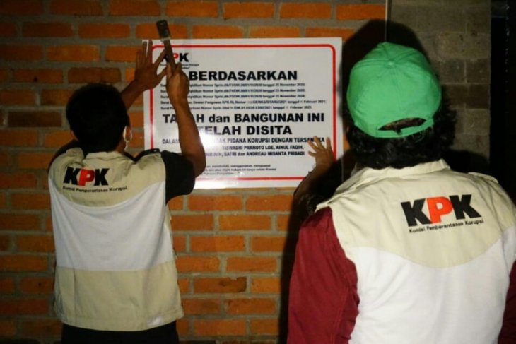 KPK sita  villa milik manta Menteri KKP Edhy Prabowo