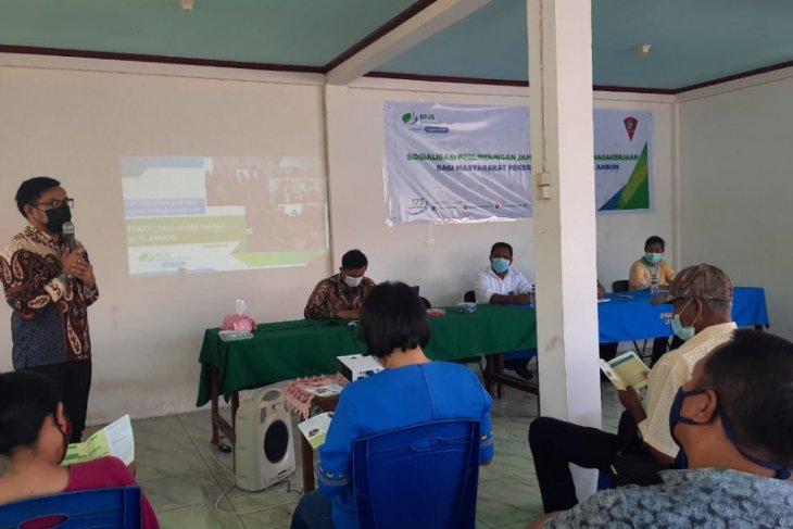 BPJAMSOSTEK Maluku - Pemkot Ambon  sosialisasi jaminan sosial pekerja rentan