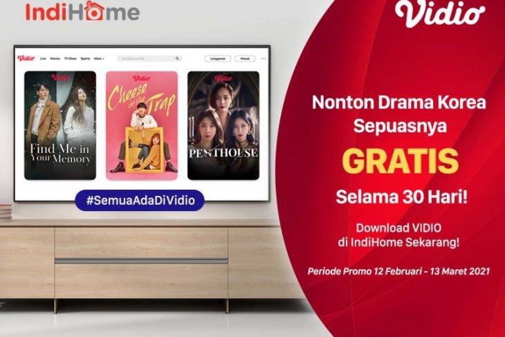 IndiHome dan Vidio kerjasama sediakan konten gratis drama Korea