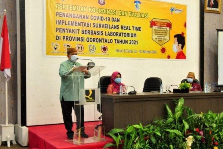 Pemprov Gorontalo evaluasi program penanganan COVID-19