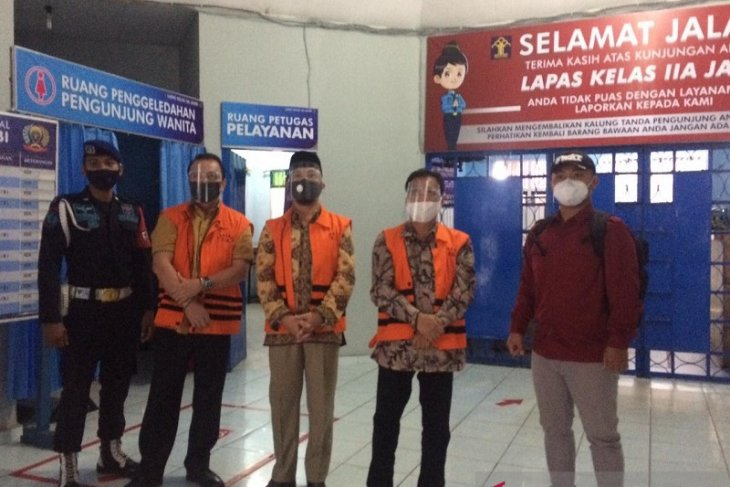 KPK pindahkan tahanan mantan pimpinan DPRD ke Lapas Jambi