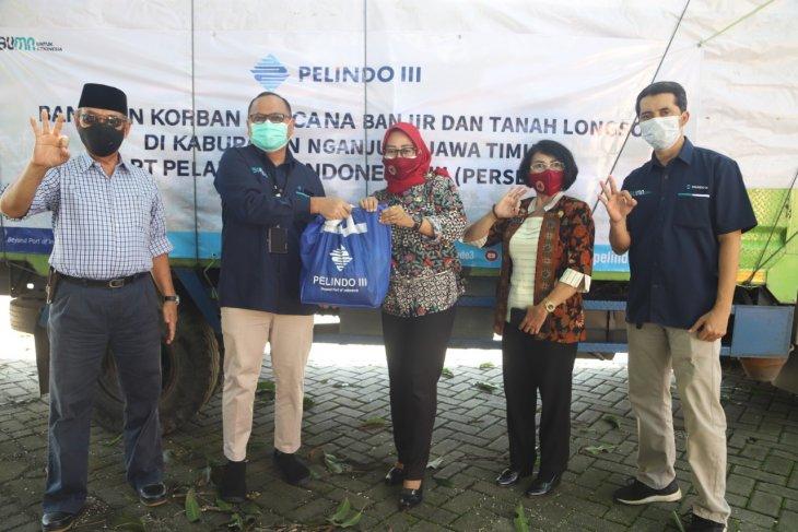 Pelindo III kirim seribu paket sembako ke korban longsor Nganjuk
