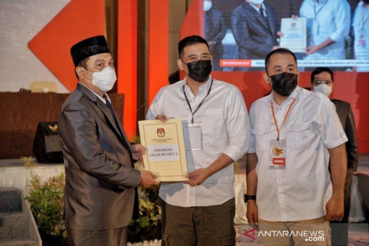 KPU tetapkan Bobby-Aulia sebagai Wali Kota dan Wakil Wali Kota Medan