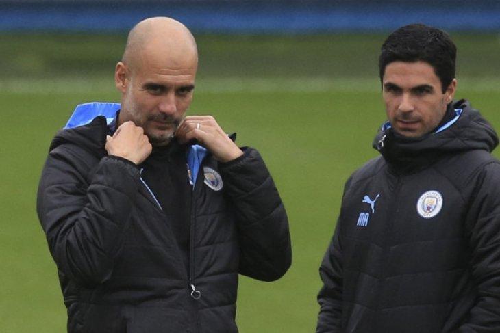 Guardiola bantah punya peran di balik melesatnya karir Arteta