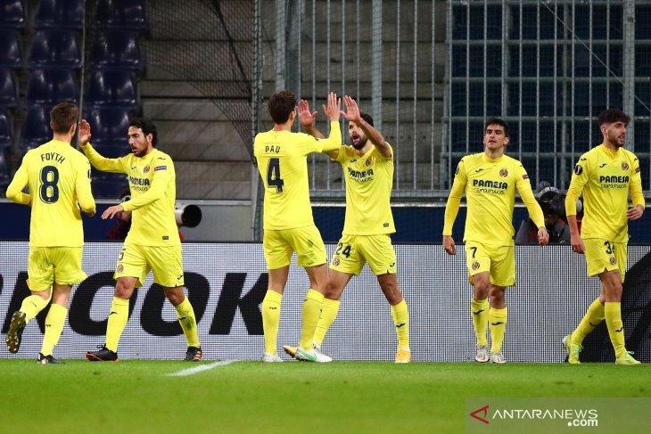 Liga Europa:  Villarreal menang 2-0 dalam lawatan ke markas RB Salzburg