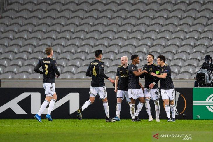 Liga Europa: Ajax bawa bekal keunggulan 2-1 setelah pecundangi Lille