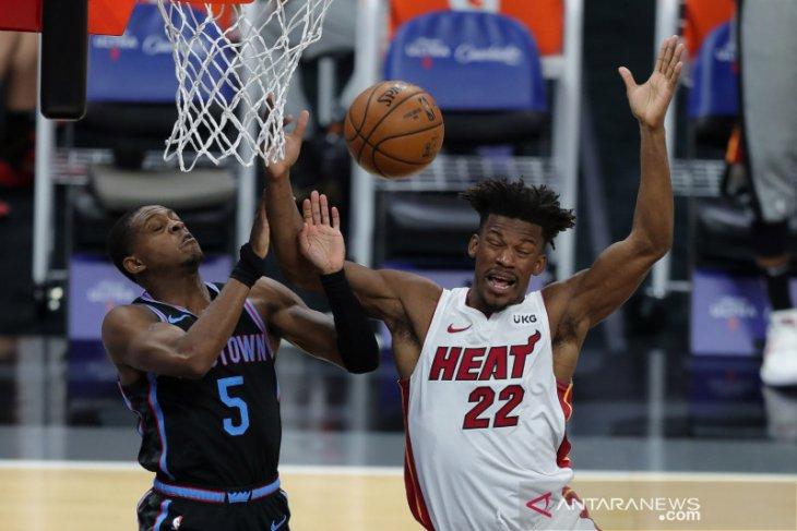 Miami Heat memanas, bantai Chicago Bulls 101-90