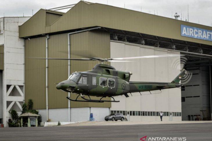 PT DI kirimkan tiga Helikopter Bell 412EPI kepada TNI AD
