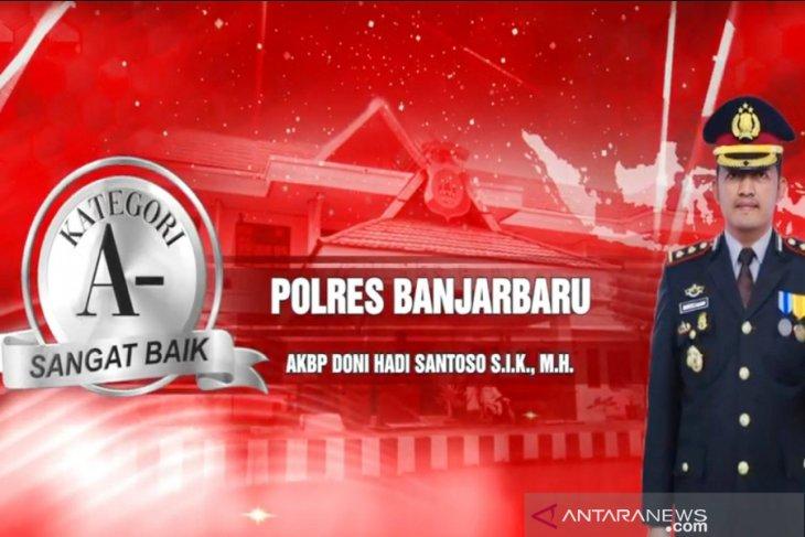 Aplikasi Cangkal jadi keunggulan Polres Banjarbaru raih penghargaan pelayanan sangat baik