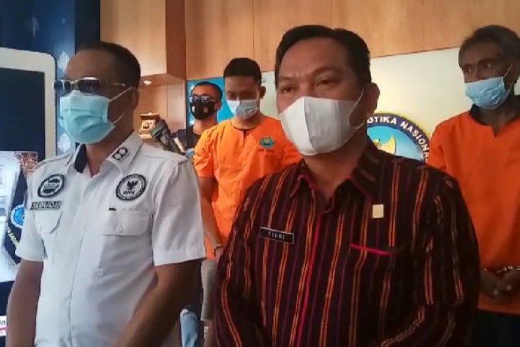 BNNK Badung tangkap dua anggoa sindikat narkotika Lapas Kerobokan-Bali