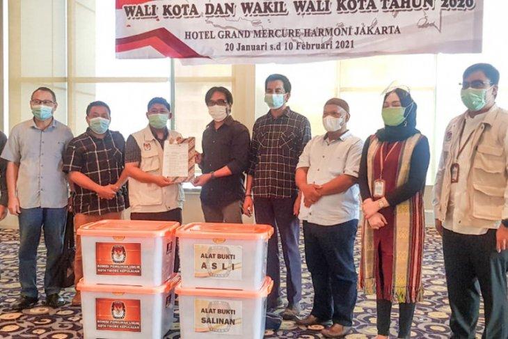 KPU Tidore Kepulauan tetapkan Ali Ibrahim  - Muhammad Sinen kepala daerah terpilih