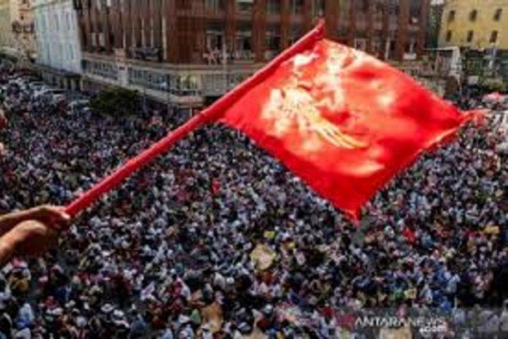 Polisi Myanmar tangkap pendukung oposisi antikudeta