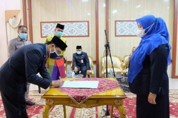 Azrin dilantik menjadi Penjabat Sekda Muarojambi