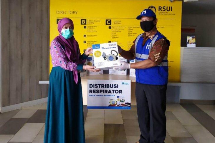 RSUI terima bantuan respirator dari Human Initiative tangani COVID-19