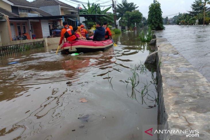 Tangsel dikepung banjir, ini 22 titik lokasinya