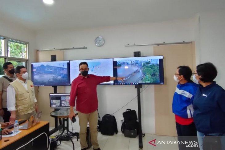 Anies: Kondisi tetap terkendali kendati curah hujan tinggi