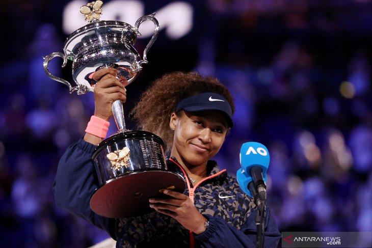 Australian Open: Naomi Osaka raih gelar keduanya dengan kalahkan Brady