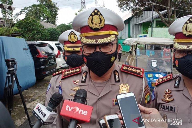 Polisi: banjir di Jakarta rendam 40 ruas jalan