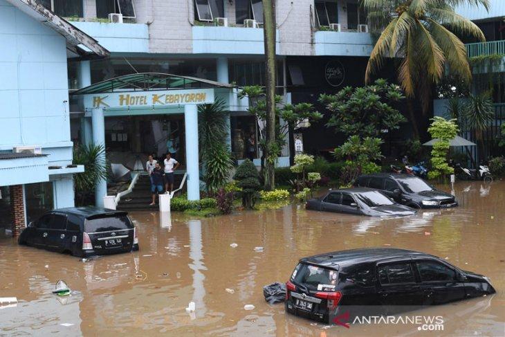 Anies: Curah hujan ekstrem penyebab banjir di Jakarta
