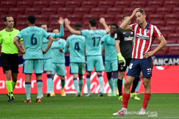 Levante menang atas Atletico Madrid 2-0
