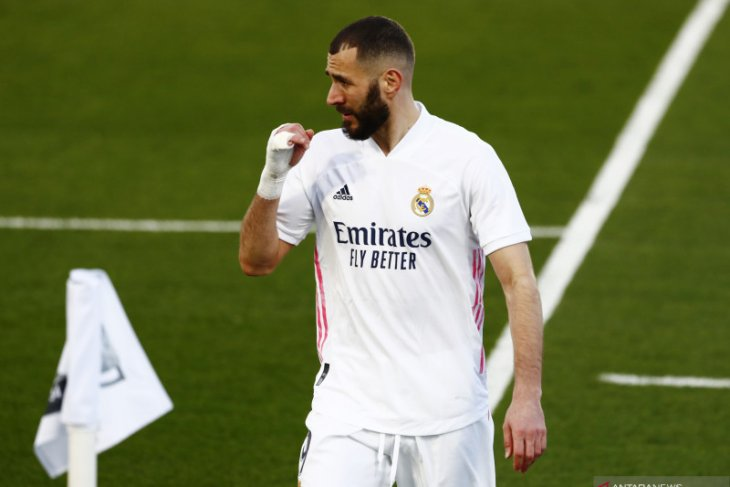 Zidane dipastikan tidak akan mainkan  Karim Benzema lawan Atalanta