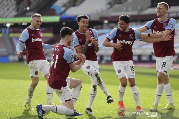 Liga Inggris, West Ham naik ke posisi keempat usai tundukkan Hotspur