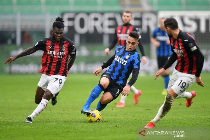 Liga Italia: Inter pecundangi Milan 3-0 untuk perlebar jarak di puncak klasemen