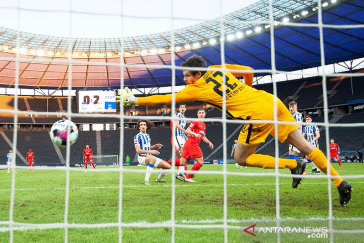 Menang di markas Hertha, Leipzig pangkas jarak dengan Bayern