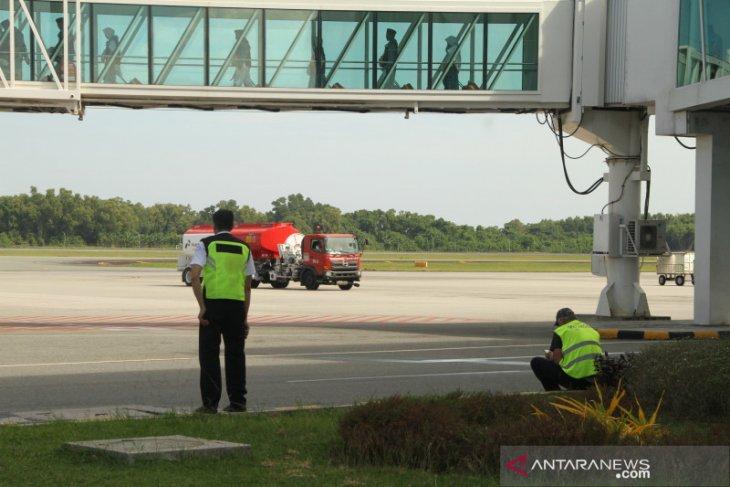 Lion Air gagal lepas landas di Bandara Sepinggan