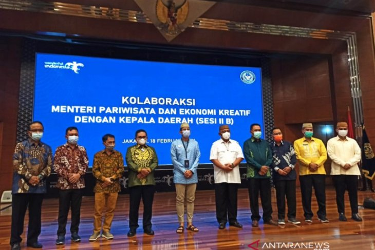 Pemkab Bone Bolango promosikan wisata unggulan ke Sandiaga Uno