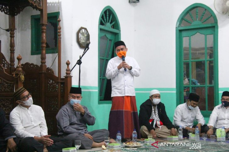 Walikota Pangkalpinang hadiri pelantikan DKM Al Hasanah Kelurahan Gajah Mada