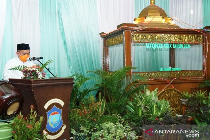 Walikota Pangkalpinang hadiri pembukaan seleksi MTQH tingkat kecamatan